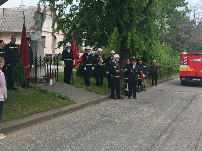 Oslavy dňa hasičov - sv. Floriána
