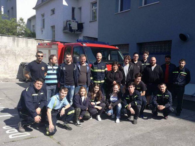 Základná príprava členov hasičských jednotiek