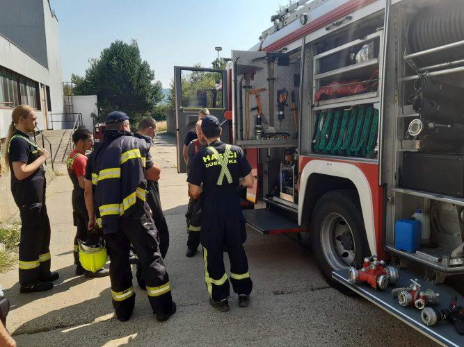 Spoločný výcvik našej jednotky a HaZÚ Bratislava